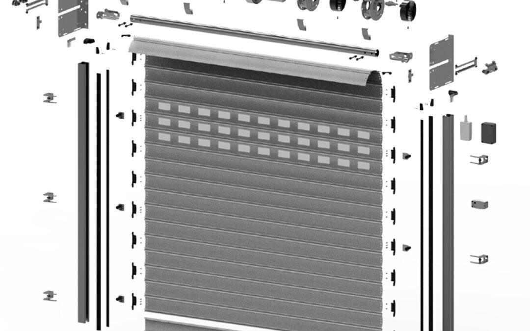 ¿Has visto el video con todos los nuevos componentes para puertas industriales rápidas que te ofrecemos?