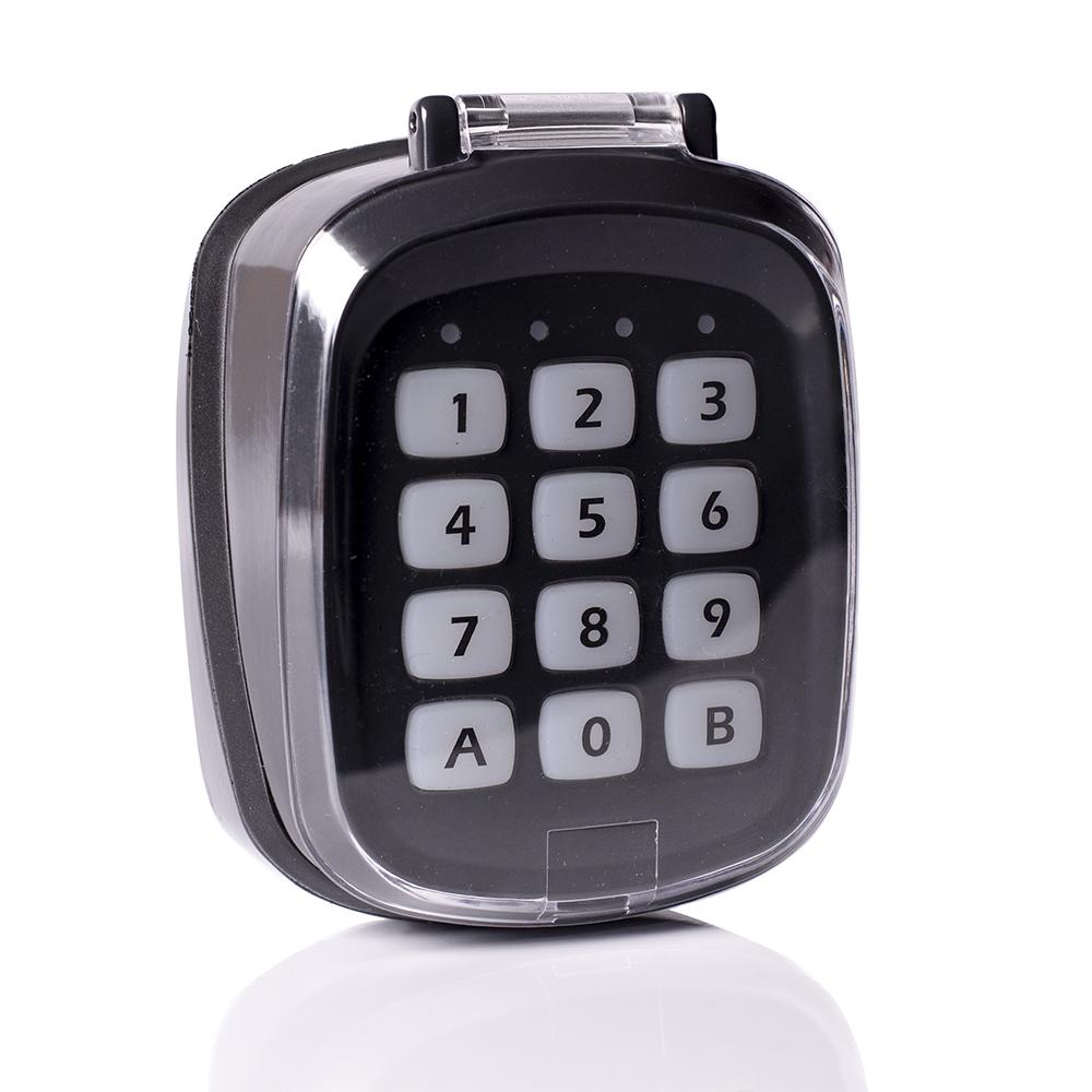 Serraller presenta el Teclado via Radio M-TX2 con código numérico