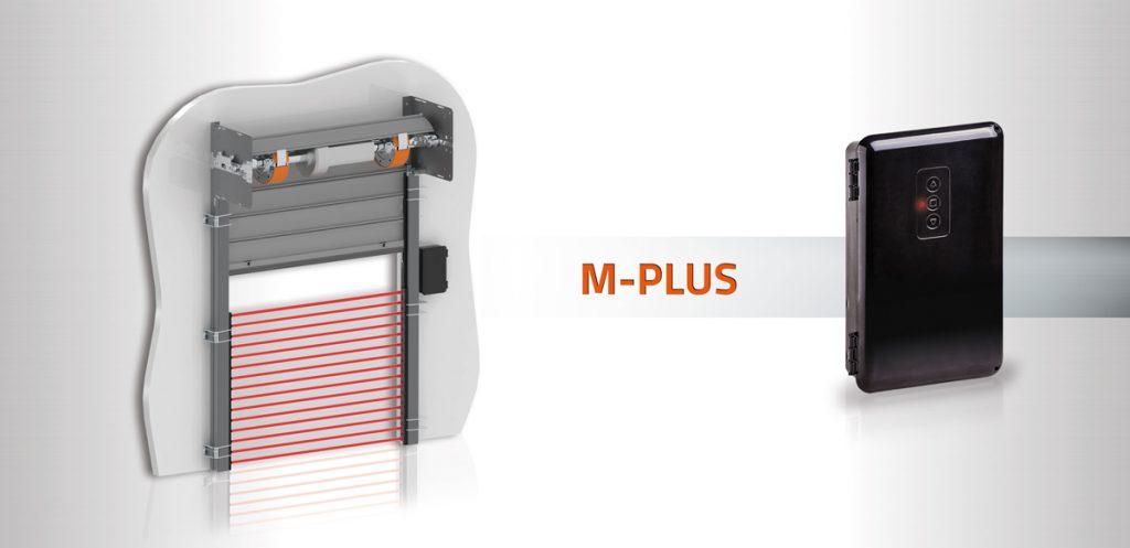 ¿Conoces los sistemas de seguridad para Puertas enrollables compatibles con el cuadro M-Plus?