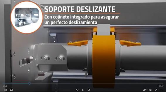 Nuevo video en el que te descubrimos el Sistema Deslizante para el eje de la Persiana Enrollable